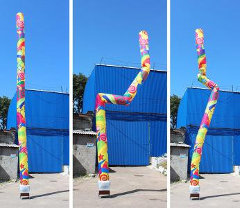 Динамічна труба Зажигай !, 10 м