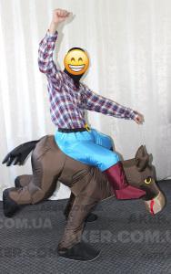 Ковбой на коні