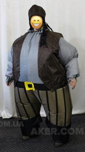 Надувний костюм Пірат