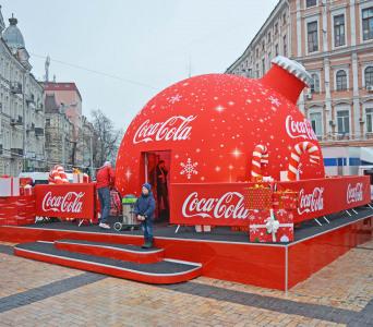 Каркасный планетарий Кока-Кола