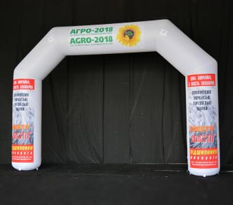 Надувная фигура Арка Агро, 5х7м