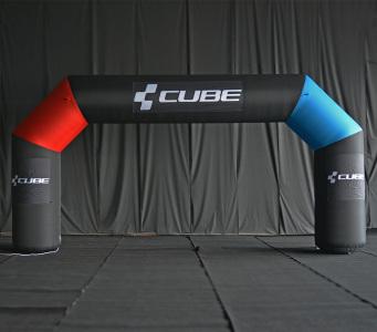 Пневмостенд Арка Cube, 4х8м