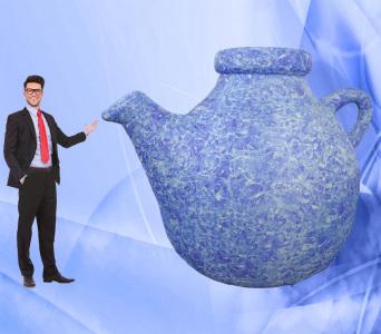 Пневмофігура Чайник Капелюшника
