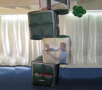 Пневмостенд Кубики Bosch