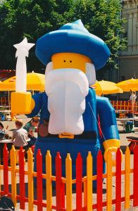 Пневмостенд Волшебник Лего