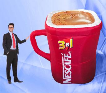 Пневмоконструкция Кружка Nescafe