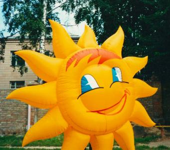 Пневмоконструкция Солнце