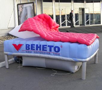 Пневмостенд кровать Венето