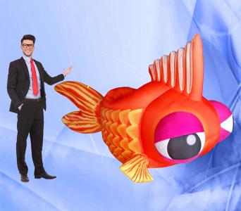 Пневмостенд Золота рибка