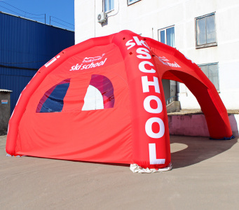 Надувной шатер Буковель, 7х7м.