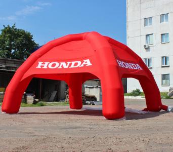 Надувной шатер Honda, 7х7м.