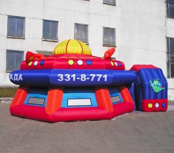 Надувной шатер Клоунада