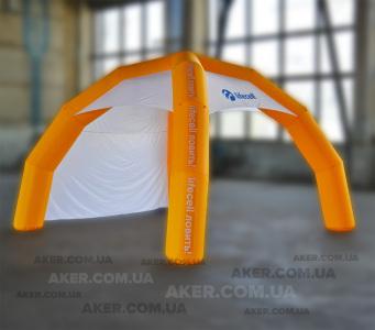 Надувной шатер Lifecell, 4х4м.