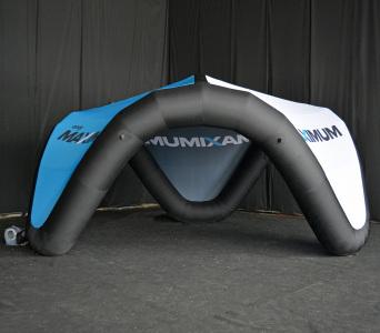 Надувний V-шатер Максимум, 3,5х6,5м.