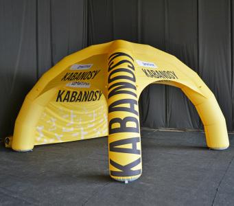 Надувной шатер Kabanosy, 5х5м.
