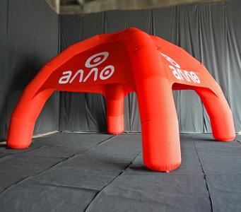 Надувний шатер Алло, 7х7м.