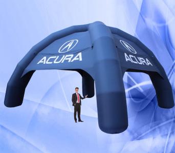 Надувний шатер  Acura, 7х7м.