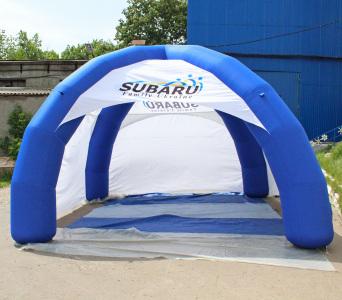 Надувний шатер Subaru, 5х5м.