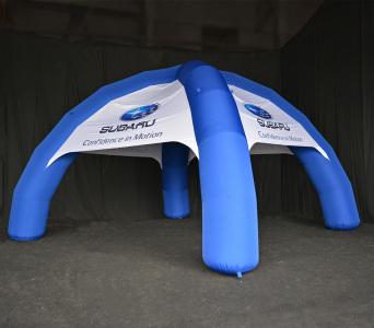 Надувний шатер Subaru, 7х7м.