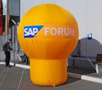 Пневмостенд Сфера на ножке Sap Forum