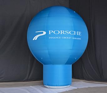 Пневмостенд Сфера на ножке Porsche, 5м