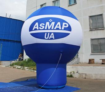 Пневмостенд Сфера на ножке AsMAP