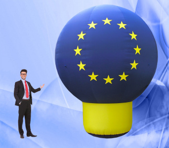 Пневмостенд Сфера на ножке Евросоюз