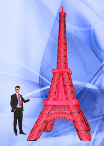 Пневмоконструкция Эйфелева башня