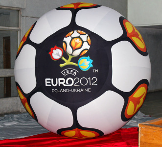 Надувная фигура Мяч Евро 2012