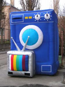 Пневмостенд Стиральная машина с TV