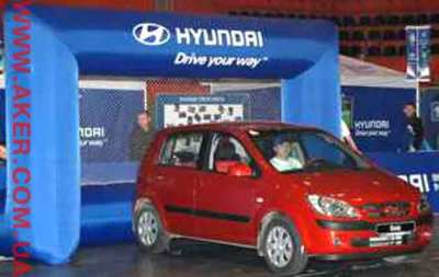 Пневмостенд Автоворота Hyundai