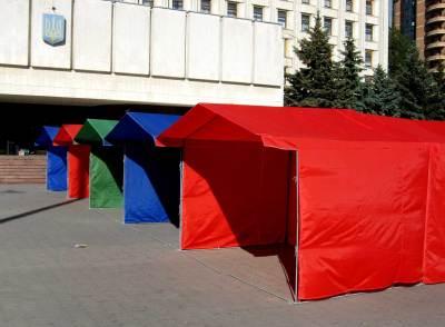 Палатки в ассортименте